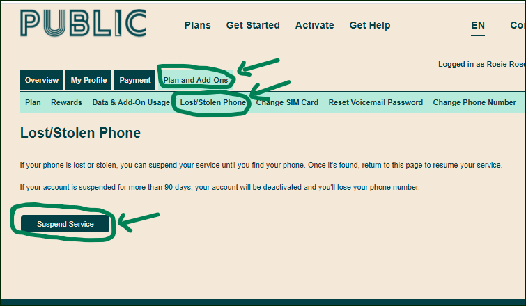 suspend account lost-stolen phone.png
