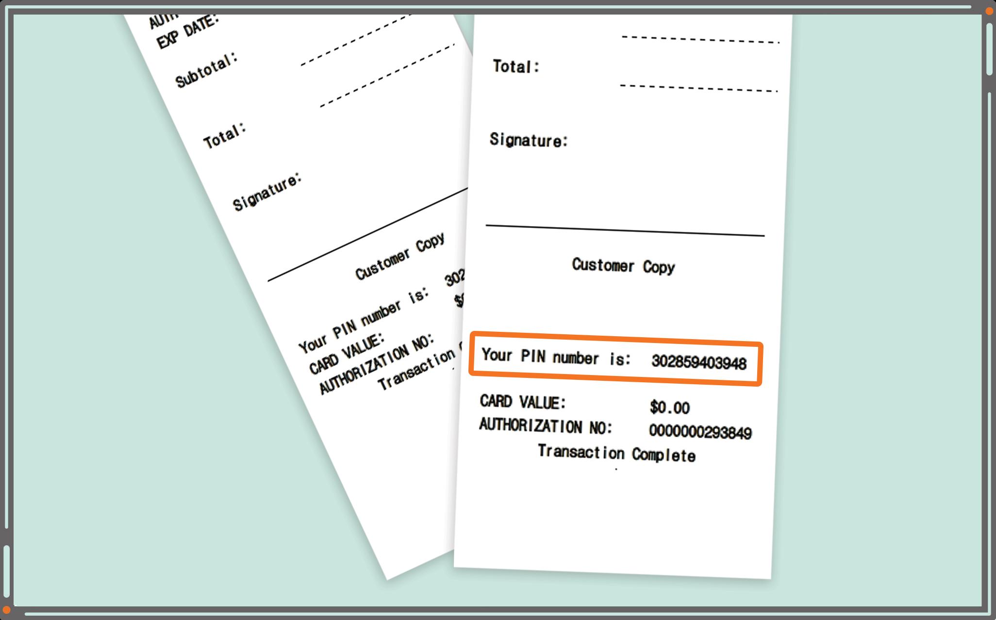 public mobile payment voucher amounts