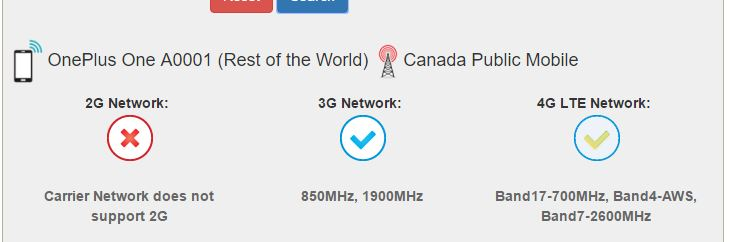 Solved: My Oneplus One cell phone shows 4g, sometimes H+