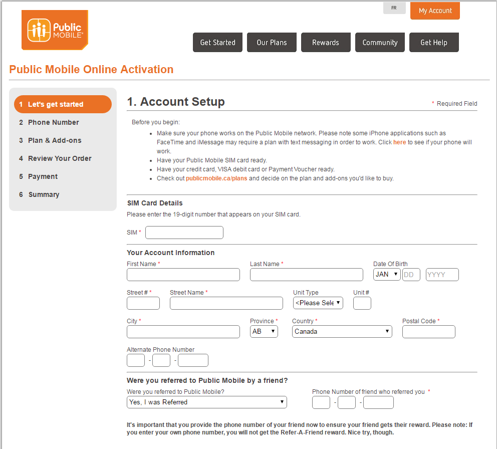 how to pay public mobile