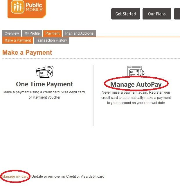 how to change credit card number on goget