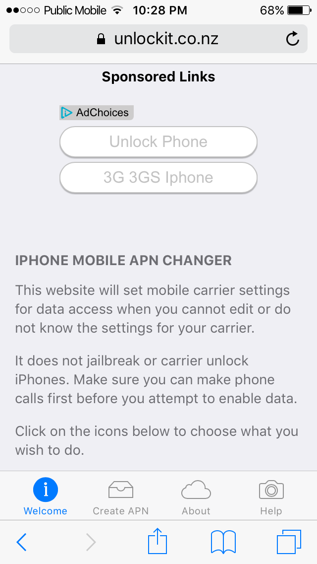 Solved: APN setting with iphone 4 (ios 7) - Community